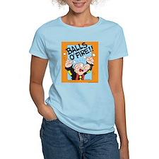 Balls O'Fire! Women's Light T-Shirt