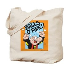 Balls O'Fire! Tote Bag