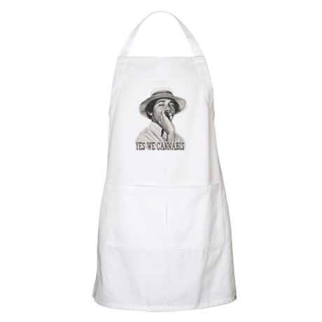Yes We Cannabis BBQ Apron