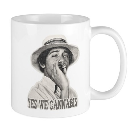 Yes We Cannabis Mug