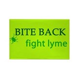 Bite Back: Fight Lyme Rectangle Magnet
