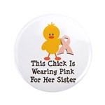 Pink Ribbon Chick For Sister 3.5
