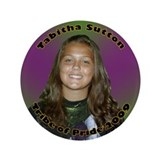 "Tabitha Sutton 3.5"" Button"