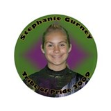 "Stephanie Gurney 3.5"" Button"