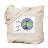 BRIGHT DRAGONFLY SPIRIT Tote Bag