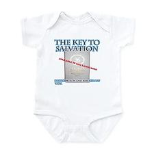 key to salvation Infant Bodysuit