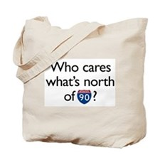 Who Cares Tote Bag