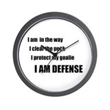 Defense Wall Clock