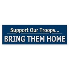 Support Troops - Bumper Sticker