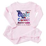 Pink Ribbon Chick For Grandma Women's Tracksuit