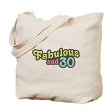 30th Birthday Tote Bag