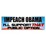 The Public Option Bumper Sticker (50 pk)