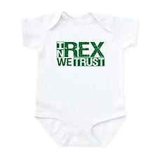 In Rex We Trust Onesie