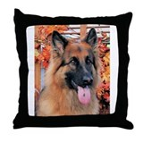 Chance German Shepard Photo-7 Throw Pillow