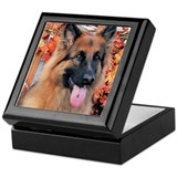 Chance German Shepard Photo-7 Keepsake Box