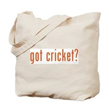 got cricket? Tote Bag