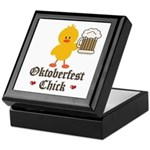 Oktoberfest Chick Keepsake Box