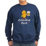Oktoberfest Chick Sweatshirt (dark)