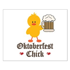 Oktoberfest Chick Posters