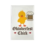 Oktoberfest Chick Rectangle Magnet (10 pack)