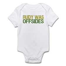Rudy Was Offsides Infant Bodysuit