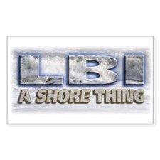 A Shore Thing... Rectangle Decal