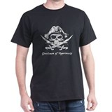 Gentleman of Opportunity Black Pirate T-Shirt
