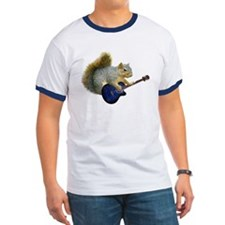 Squirrel with Blue Guitar T