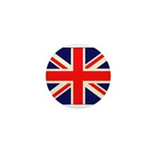 British flag Mini Button