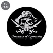"""3.5"""" Gentleman of Opportunity Button (10 pack"""