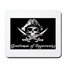 Pirate Gentleman of Opportunity Flag Mousepad