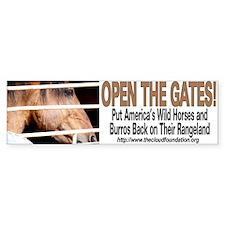 Open the Gates! Bumper Sticker (10 pk)