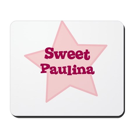 Sweet Paulina Mousepad