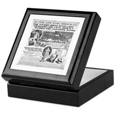 New York Herald Keepsake Box
