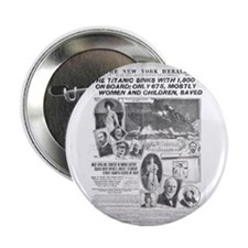 "New York Herald 2.25"" Button (10 pack)"
