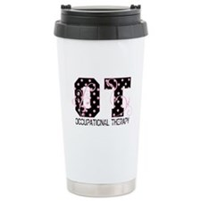 Lots of Dots Ceramic Travel Mug