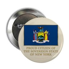 "New York Proud Citizen 2.25"" Button"