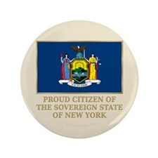 "New York Proud Citizen 3.5"" Button"