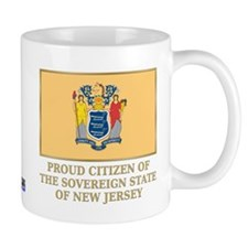 New Jersey Proud Citizen Coffee Mug
