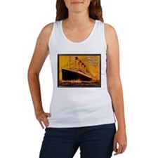 White Star Titanic Women's Tank Top