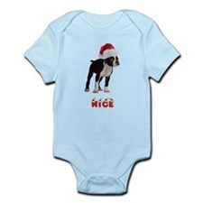 Nice Boston Terrier Infant Bodysuit