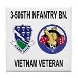 3-506th Infantry Vietnam Tile Coaster 2