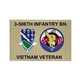 3-506th Infantry Vietnam Magnet 2
