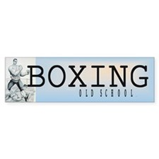 TOP Boxing Slogan Bumper Sticker