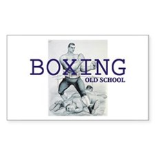 TOP Boxing Slogan Decal