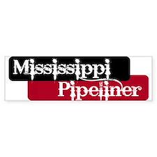 Mississippi Pipeliner Bumper Bumper Sticker