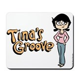 Tina in Blue Jeans Mousepad