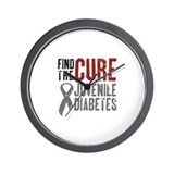 Juvenile Diabetes Wall Clock