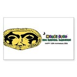 Mardi Gras 2006 Rectangle Decal