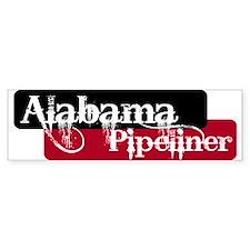 Alabama Pipeliner Bumper Bumper Sticker